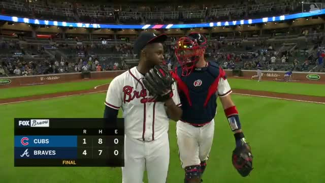 Watch and share Atlanta Braves GIFs and Chicago Cubs GIFs on Gfycat