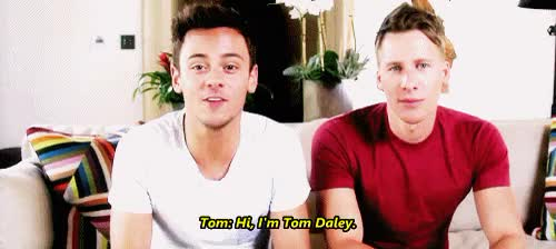 Watch and share Dustin Lance Black GIFs and Tom X Dustin GIFs on Gfycat