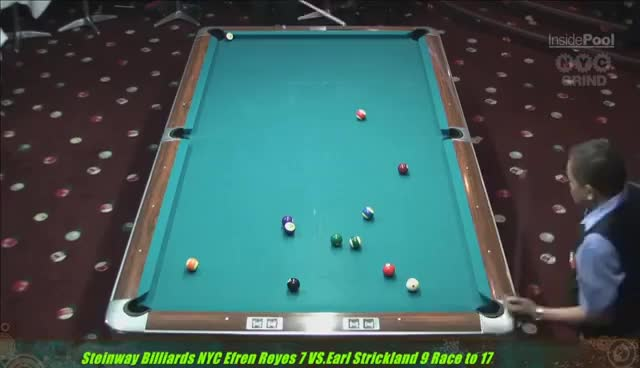 Watch and share Strickland V Reyes Super Show 8-Ball Steinway Billiards NYC GIFs on Gfycat