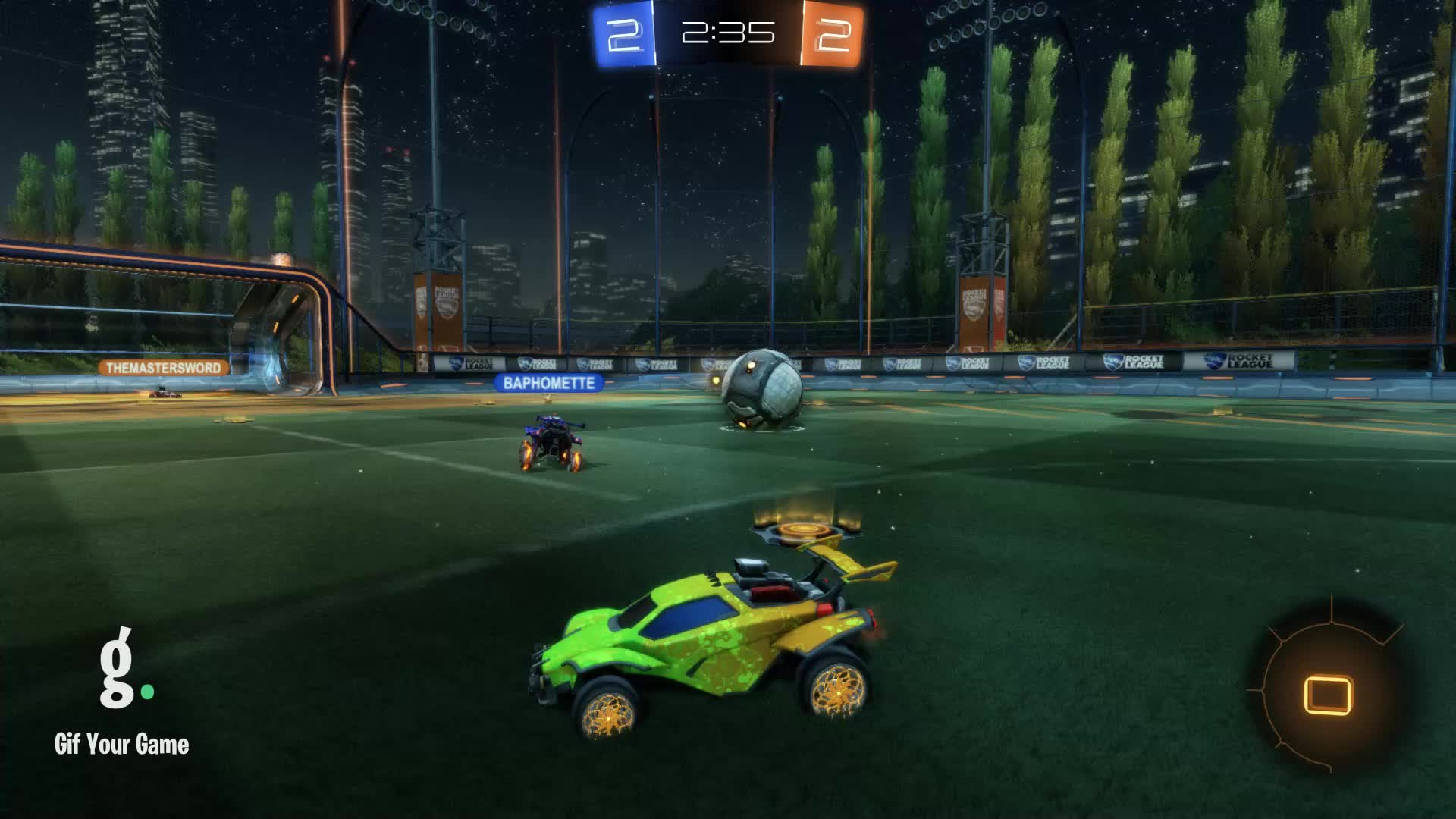 Assist, Gif Your Game, GifYourGame, Rocket League, RocketLeague, datboi, Assist 3: datboi GIFs