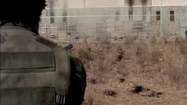 Watch TWD S3E16 - The Governor Attacks the Prison #1 GIF on Gfycat. Discover more related GIFs on Gfycat