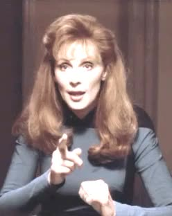 Watch and share I Love Her So Much GIFs and Beverly Crusher GIFs on Gfycat