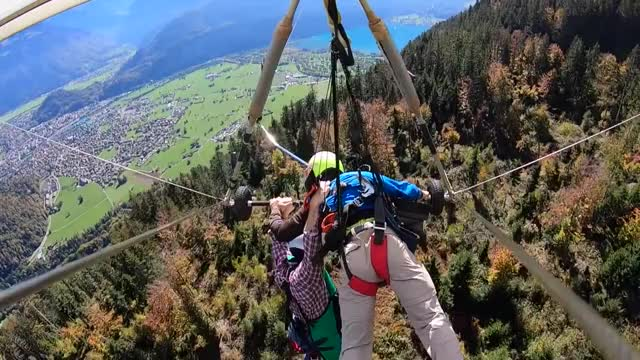 Watch SWISS MISHAP GIF on Gfycat. Discover more abc news, cbs news, gopro, goprohero7, hang gliding, hang on, lucky to be alive, near death exrperience, swiss mishap, switzerland GIFs on Gfycat