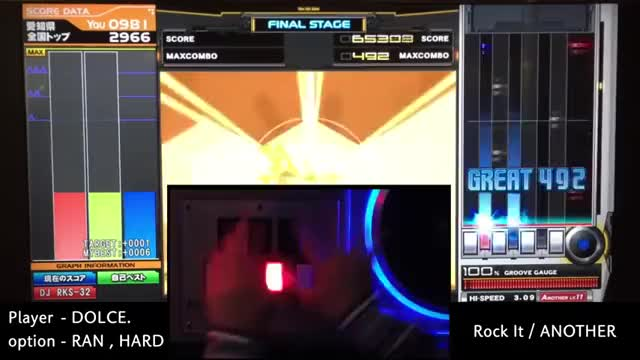Watch Rock It (A) MAX-17 PERFECT / played by DOLCE. / beatmania IIDX23 copula [手元付き?] GIF on Gfycat. Discover more Beatmania IIDX (Video Game Series), bemani, dolce GIFs on Gfycat