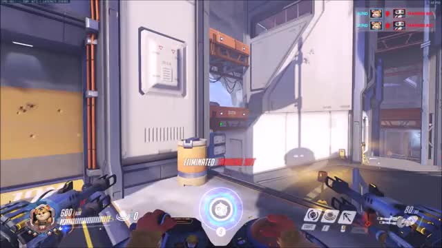 Watch and share Overwatch GIFs and Wrecking GIFs by Blind on Gfycat