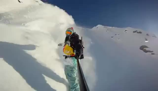 amazing, awesome, go pro HD, hot, sick, snow, snowboarding, Snowboarding GIFs