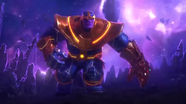 Watch and share Thanos GIFs by Notias1 on Gfycat
