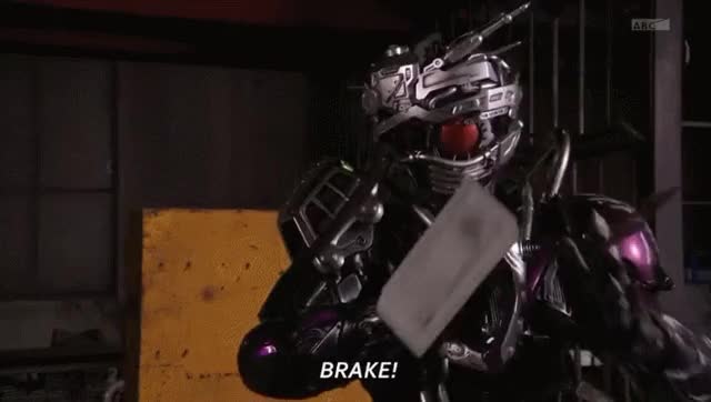 Watch and share Mashin Chaser Brake GIFs by sonicboomdrive on Gfycat