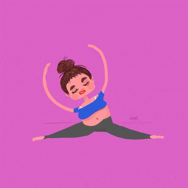 Watch this zen GIF by GIF Queen (@ioanna) on Gfycat. Discover more girl, hard, hurt, meditation, ogh, out, pink, relax, strech, sweat, tough, trying, woman, work, yoga, zen GIFs on Gfycat