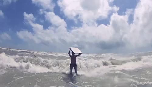 Watch and share Boogie Boarding GIFs and Body Boarding GIFs on Gfycat