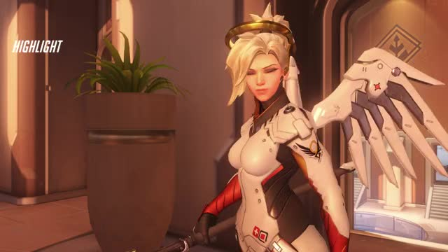 Watch lol 18-04-04 00-28-58 GIF by FelicityC (@felicityc) on Gfycat. Discover more mercy, overwatch GIFs on Gfycat