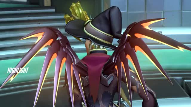 Watch and share Overwatch GIFs and Mercy GIFs by shiro on Gfycat