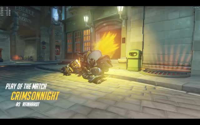Watch Swinging the hammer GIF by @crimsonnight on Gfycat. Discover more overwatch, reinhardt GIFs on Gfycat