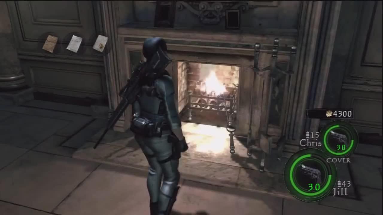 Resident Evil 5 Lost In Nightmares Jill Valentine Gif Gfycat