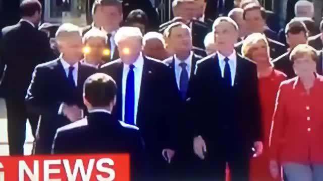 Watch and share Macron Handshake Priority's GIFs on Gfycat
