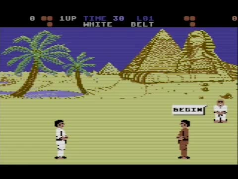 Watch and share International Karate - Commodore 64 GIFs by Haikuwoot on Gfycat