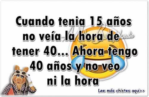 Watch and share Cuando Tenía 15 Años No Veía La Hora De Tener 40 GIFs on Gfycat