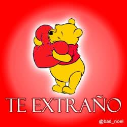 Watch and share Winnie Pooh: Te Extraño GIFs on Gfycat