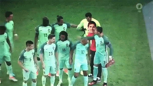 football, Messi in Portugal squad GIFs