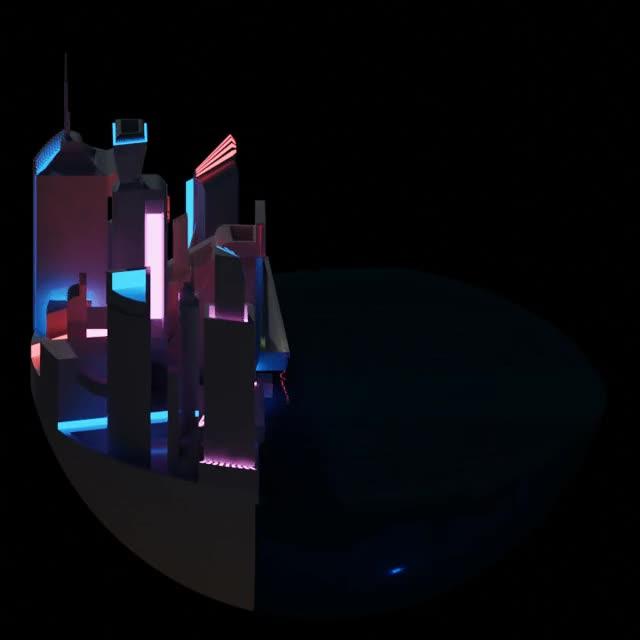 Watch and share Cyberpunk Sunrise (test) GIFs by tomrumble on Gfycat
