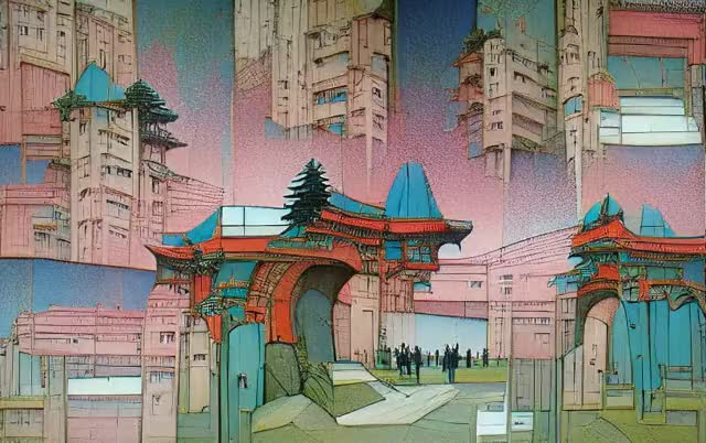 Watch and share Neo Tokyo 3D GIFs by ya on Gfycat