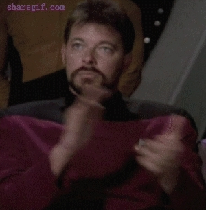 applause, clap, clapping, jonathan frakes, slow clap, william riker, William Riker Slow Clap GIFs