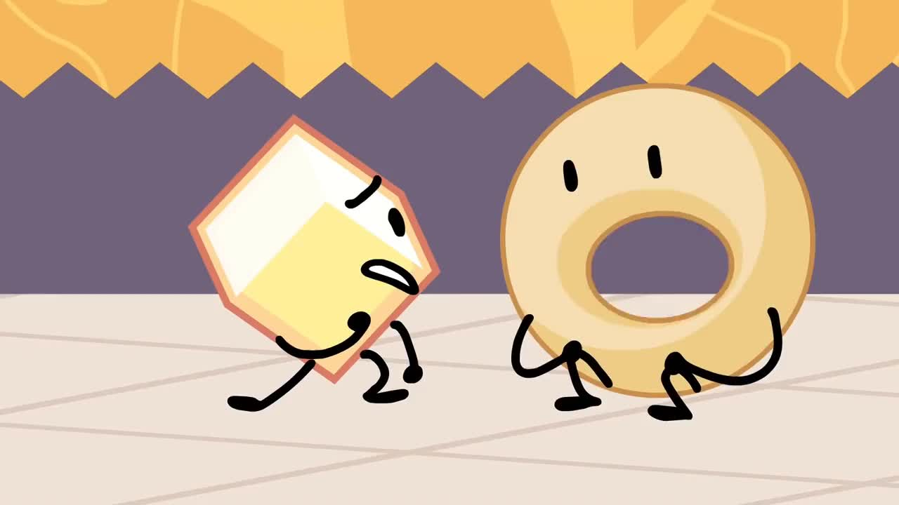 bfb, bfdi, eliminated, gasp, loser, Loser is eliminated GIFs
