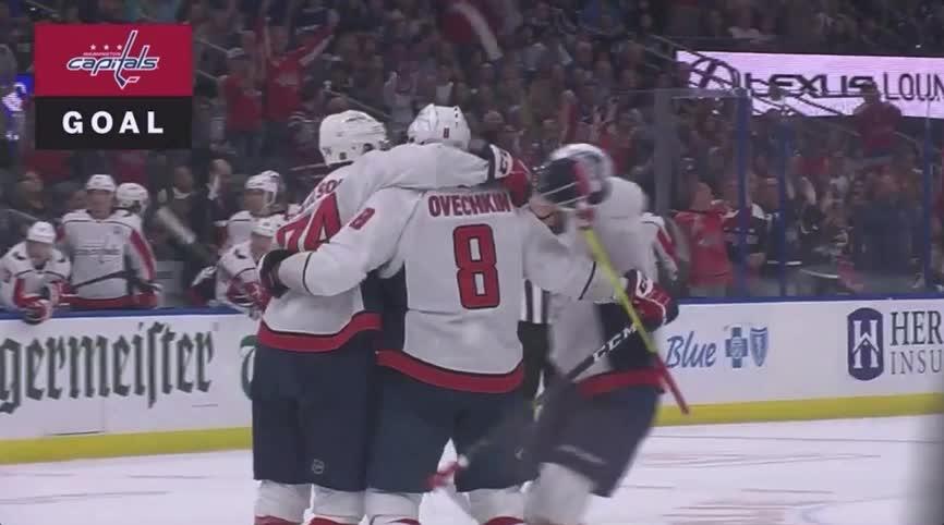 Carlson's goal hug [MYM] GIFs