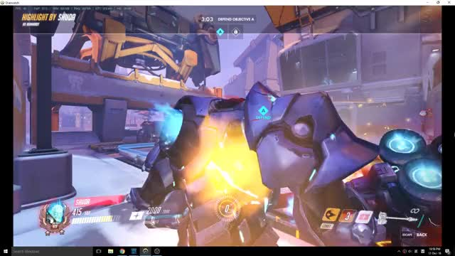 Watch and share Overwatch GIFs and Reinhart GIFs on Gfycat