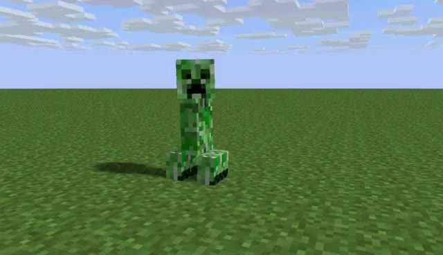 Watch and share Creeper Explosion GIFs on Gfycat