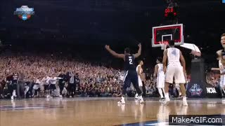 Watch Villanova vs. North Carolina: Kris Jenkins shot wins national title GIF on Gfycat. Discover more related GIFs on Gfycat