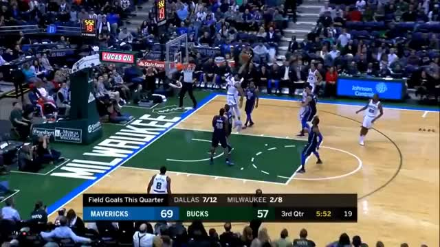 Watch and share Giannis Antetokounmpo Watch Out  Unreal Dunk! GIFs on Gfycat