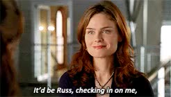 Watch and share Temperance Brennan GIFs and Angela Montenegro GIFs on Gfycat