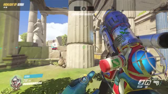 Watch and share Highlight GIFs and Overwatch GIFs by kerbii on Gfycat