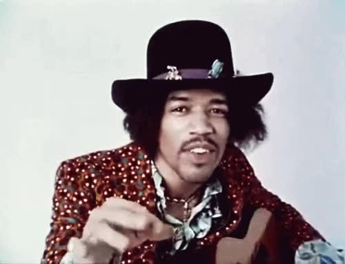 Watch and share Jimi Hendrix GIFs on Gfycat
