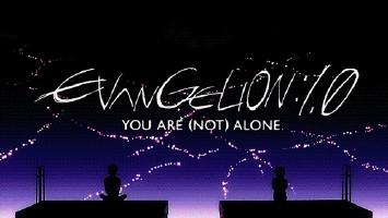 advance, alone, anime, eva, evangelion, manga, nge, redo, Rebuild Of Evangelion officialevangelion GIFs