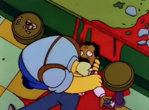 Watch and share Mendoza!! (The Simpsons) GIFs on Gfycat
