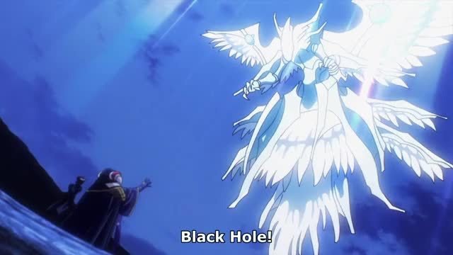 Watch and share Ainz Ooal Gown - Black Hole GIFs by 👑King Harlequin👑 on Gfycat