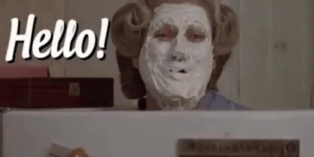 Watch this hello GIF by Reactions (@leahstark) on Gfycat. Discover more hello, ms doubtfire GIFs on Gfycat