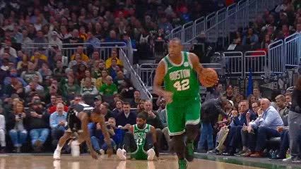 Watch Al Horford and Marcus Smart — Boston Celtics GIF by Off-Hand (@off-hand) on Gfycat. Discover more 022119 GIFs on Gfycat