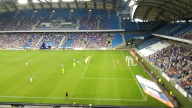 Watch and share Lech Poznań - Haugesund Bramka Na 1 - 0 Darko Jevtić 32' GIFs on Gfycat