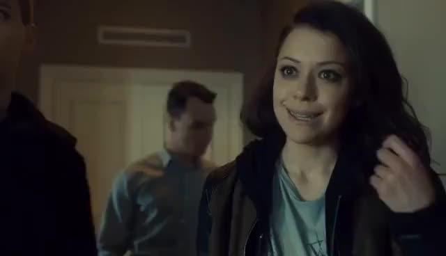 Watch Orphan Black Season 4 BLOOPERS GIF on Gfycat. Discover more Tatiana Maslany GIFs on Gfycat