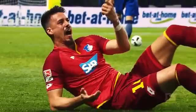 Watch and share Wagner's Dislocated Finger - Bundesliga Hard Man GIFs on Gfycat