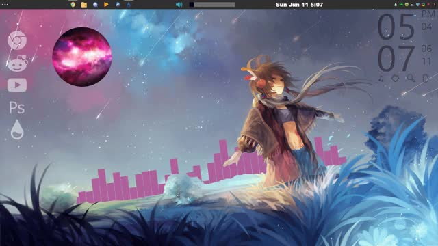 Watch and share Rainmeter GIFs by zyocuh on Gfycat