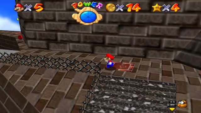 Watch Super Mario 64 Walkthrough - Course 2 - Whomp's Fortress GIF on Gfycat. Discover more mario, super, super mario 64 GIFs on Gfycat