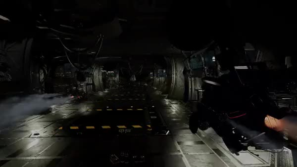 Watch and share Asteroid Hangar Racing GIFs by discolando on Gfycat