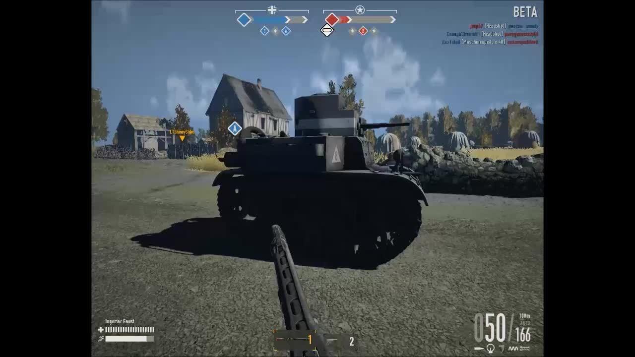 heroesandgenerals, m2a2, MG42 vs M2A2 GIFs