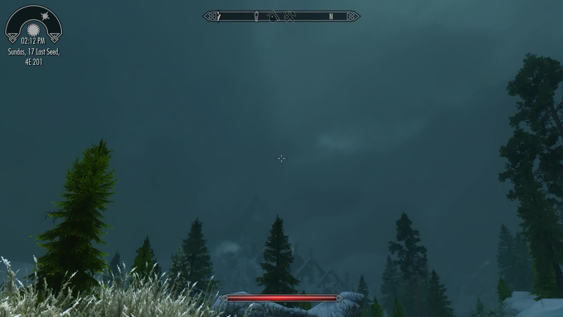 skyrimmods, Today's forecast calls for light showers and thunderstorms GIFs