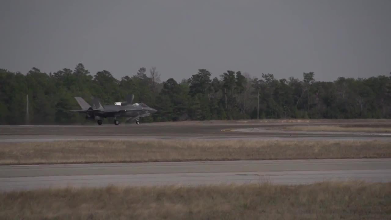 warplanegfys, Inglin at Eglin. British pilots training with the F-35B. (reddit) GIFs