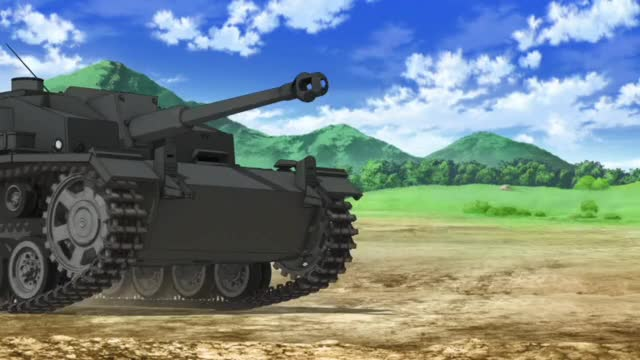 Watch and share Training [Girls Und Panzer OVA] GIFs by vladar on Gfycat